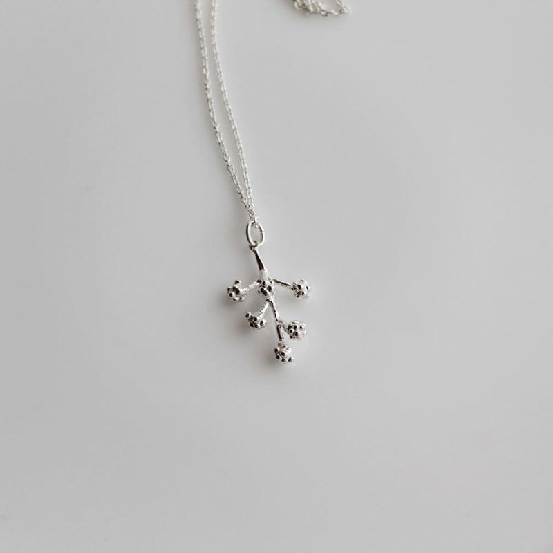 sv925 ミモザのネックレス
