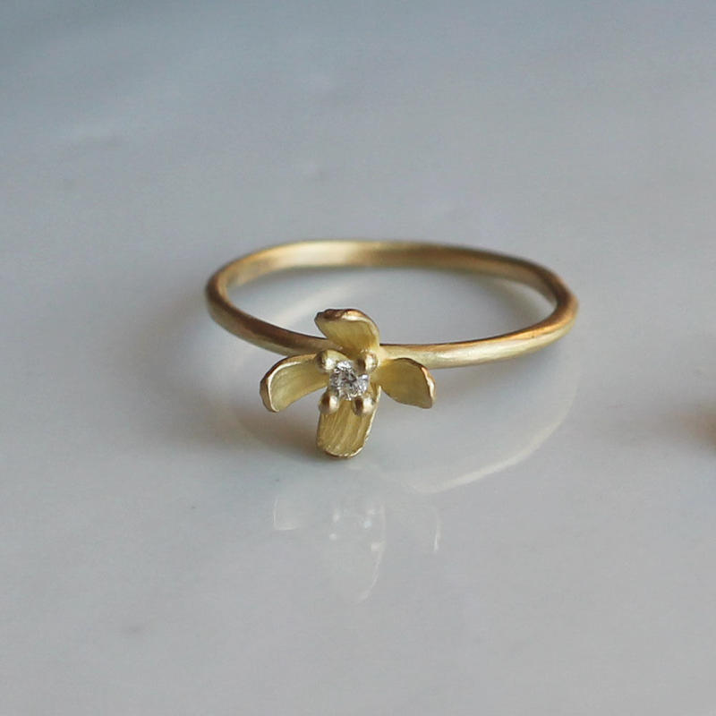 K18 ミズヒキソウのリング