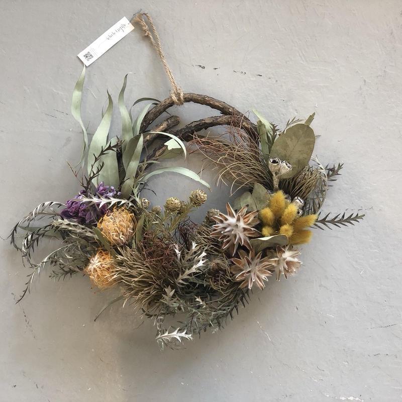 wreathe :  this