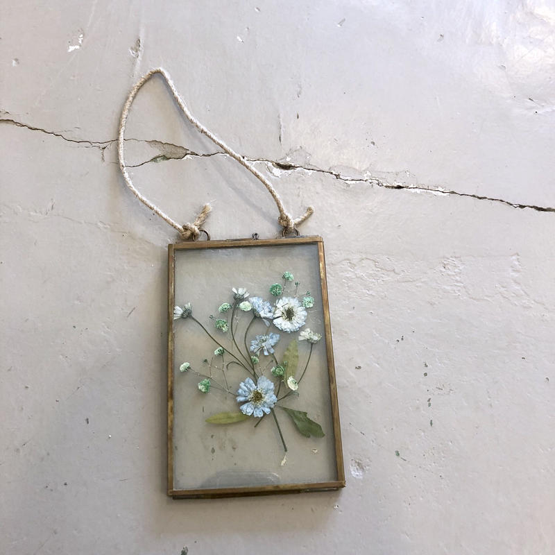 flower Photo flame=吊型 M blue daisy=