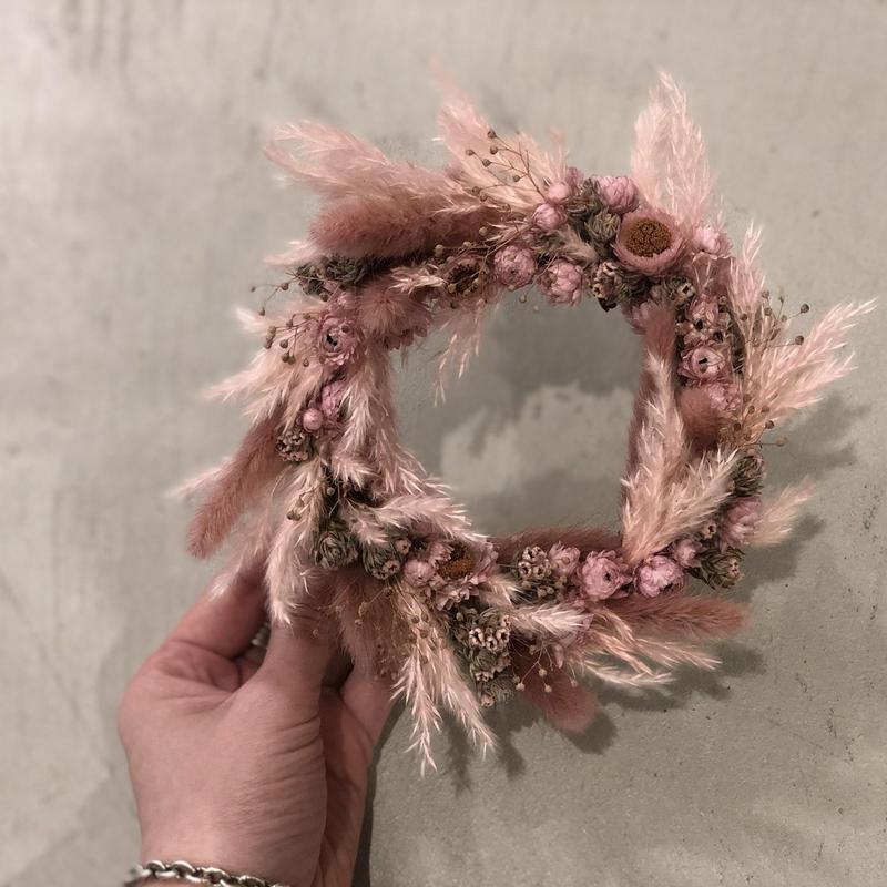tiny wreathe :  pink