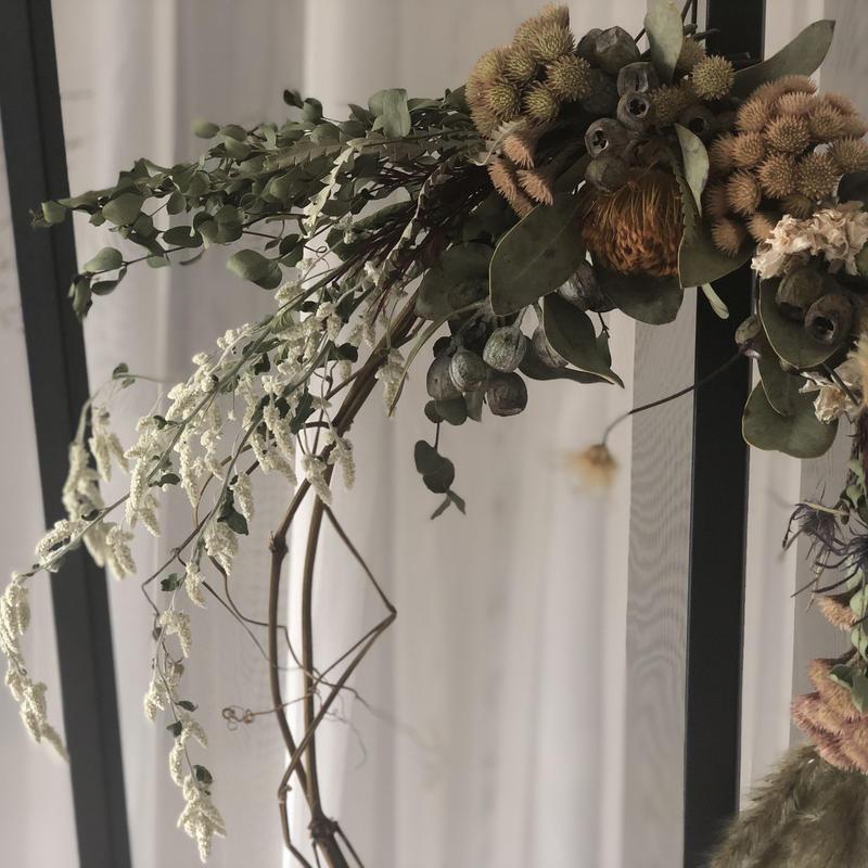 wreathe :  野草花