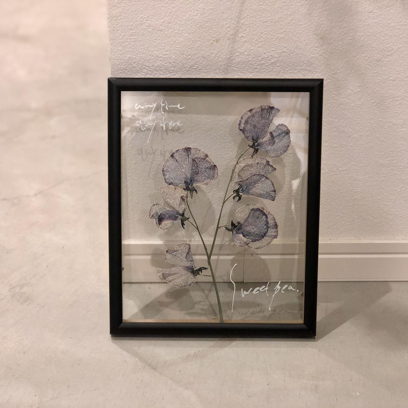flower Photo flame = black medium =