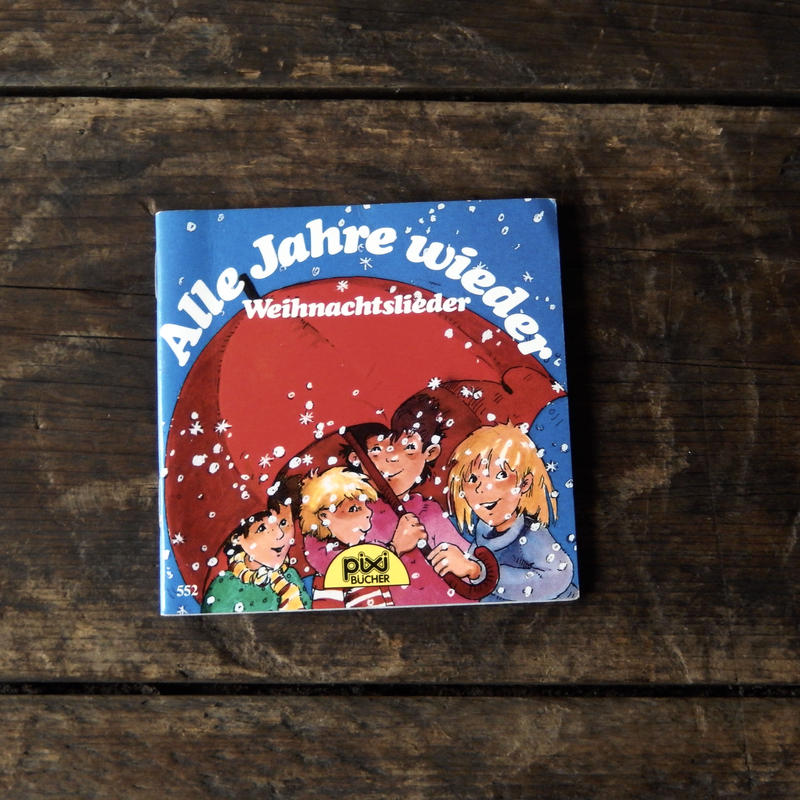 antiques 絵本 Alle Jahre wieder from Germany