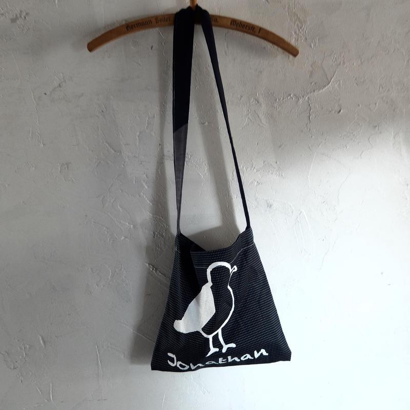 takuroh shirafuji Jonathan Print Shoulder Bag 4