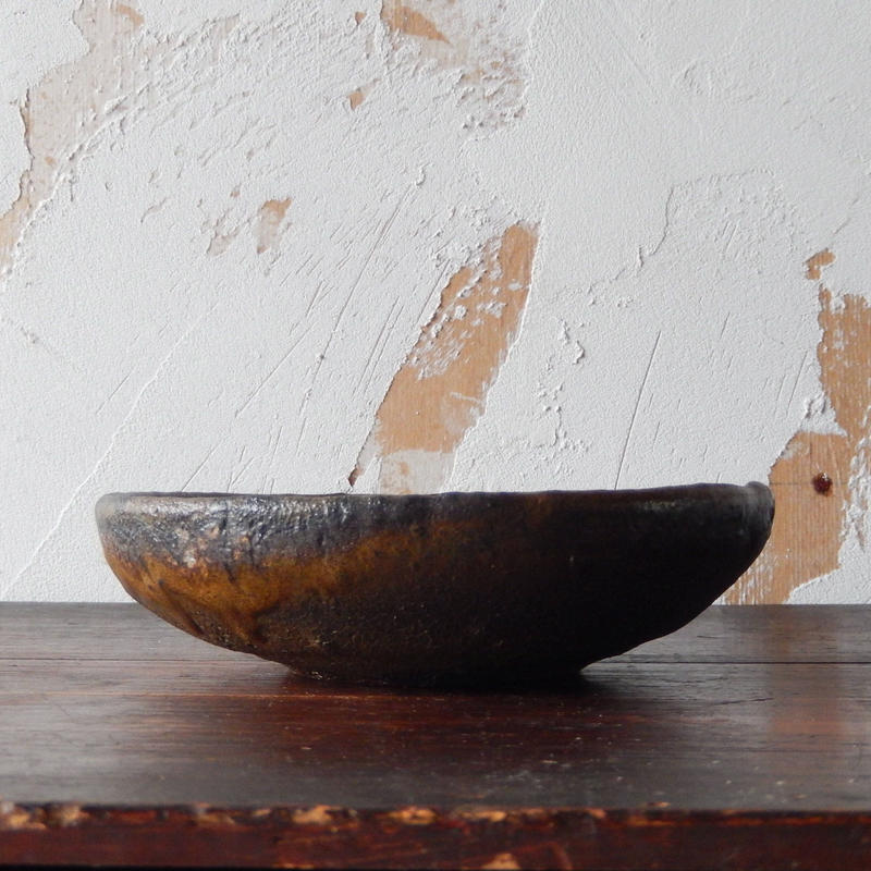 鶴野啓司  鉄化粧平鉢