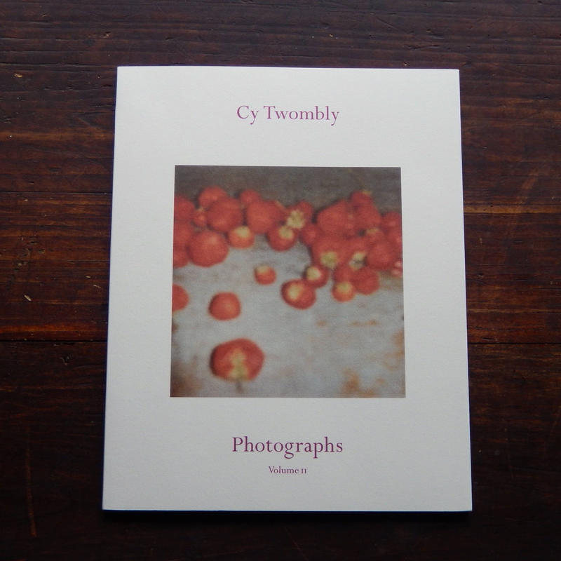 古書  Cy Twombly Photographs  Volume II