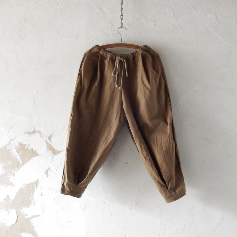 COCOLO Cotton Cocoa Sarouel Pants