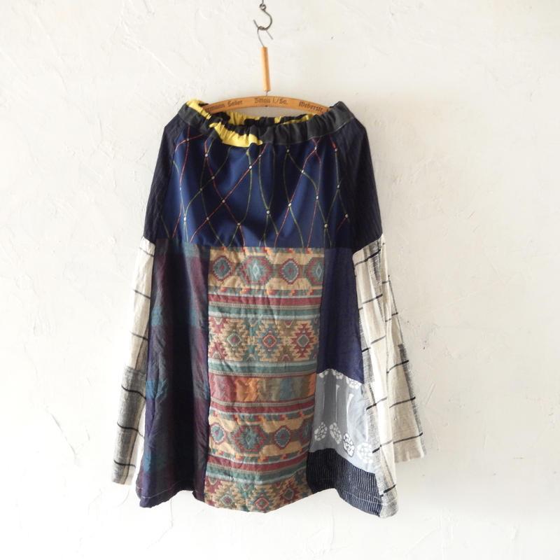 takuroh shirafuji Hikizakura[Bolo Tsugihagi Gathered Skirt] three