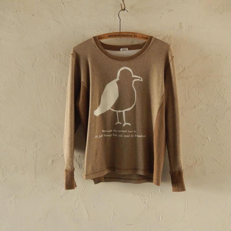 takuroh shirafuji Jonathan Print Long Sleeve T-shirts(size 1)