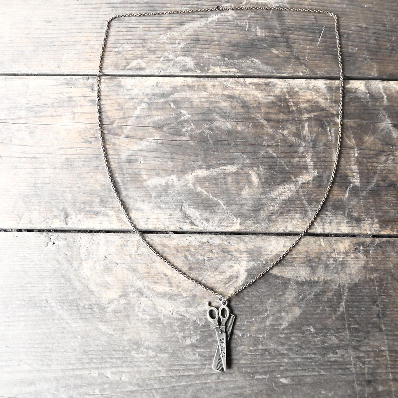 antiques Scissors necklace(from UK)