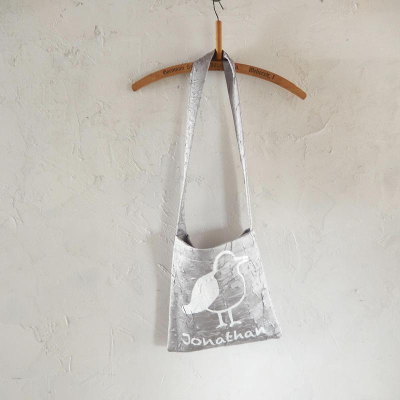 takuroh shirafuji Jonathan Print Shoulder Bag 3