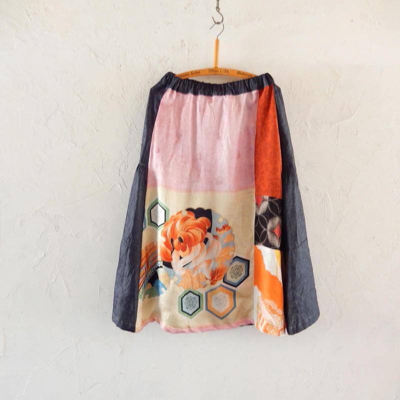 takuroh shirafuji Hikizakura[Bolo Tsugihagi Gathered Skirt] two