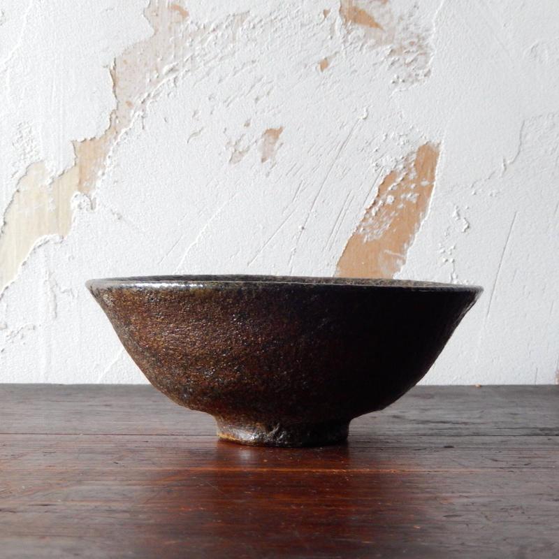 鶴野啓司  鉄釉鉢
