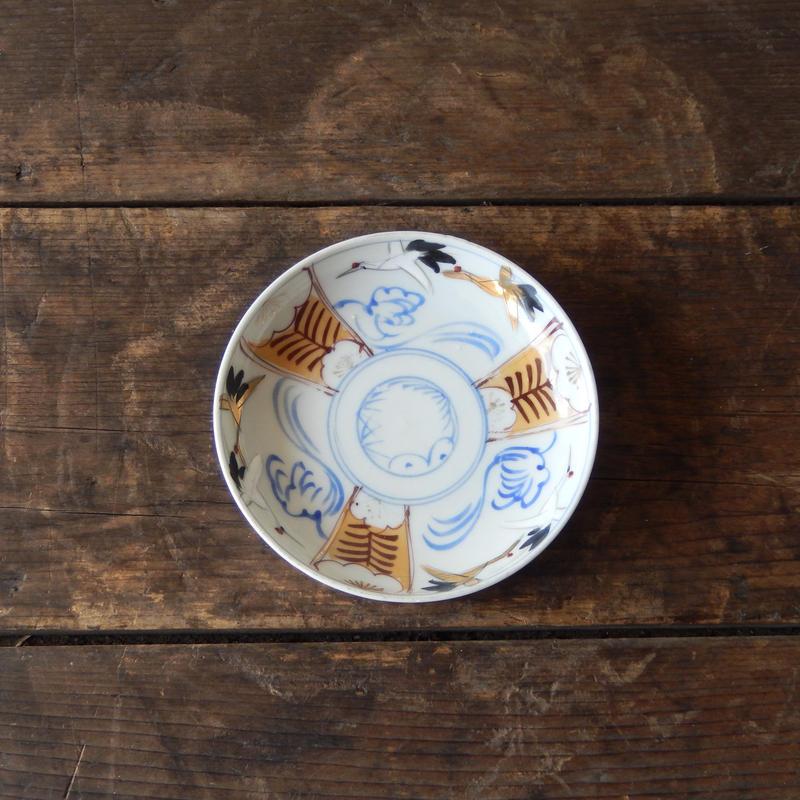 antiques 絵付 小皿