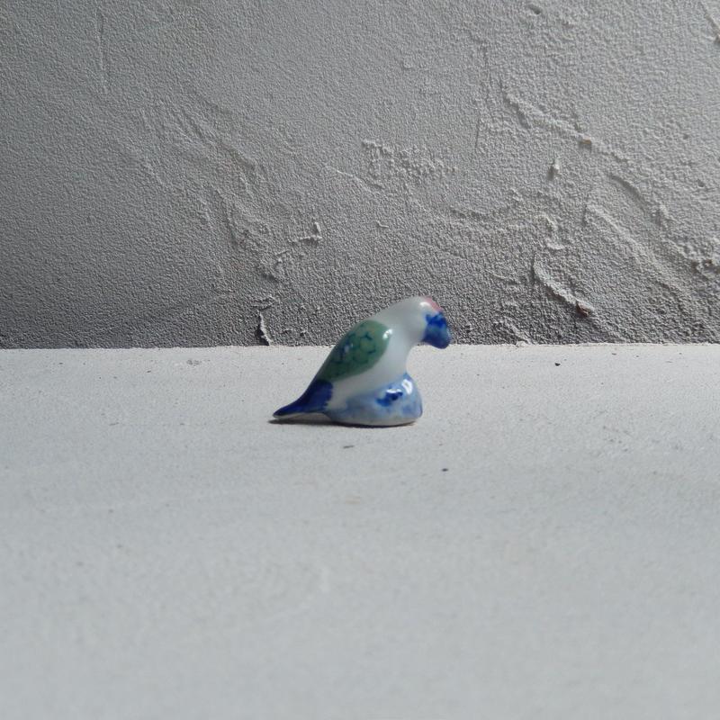 antiques 鳥の置物
