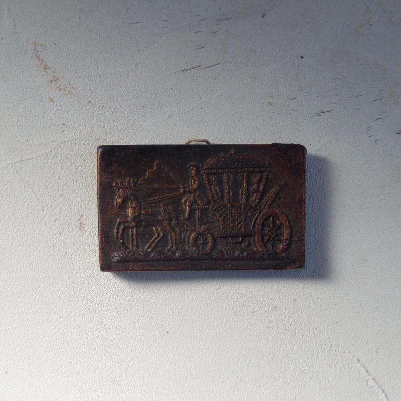 antiques キャンドルでできたタペストリー