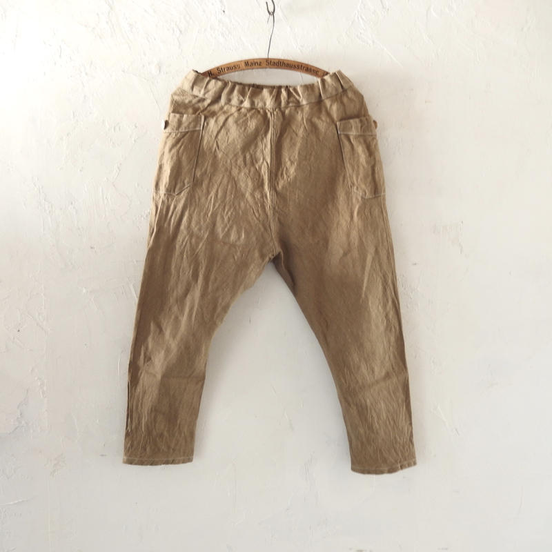 takuroh shirafuji Chao Phraya[Sarouel Pants(Linen) :  Women]