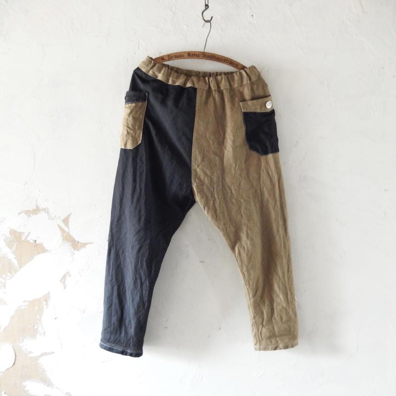 takuroh shirafuji Chao Phraya[Sarouel Pants(Lithuania Linen x Wool Linen) : Women]