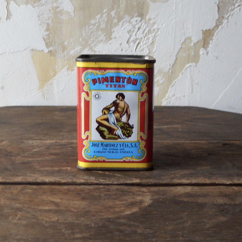 antiques TAITANの香辛料TIN缶 from Spain