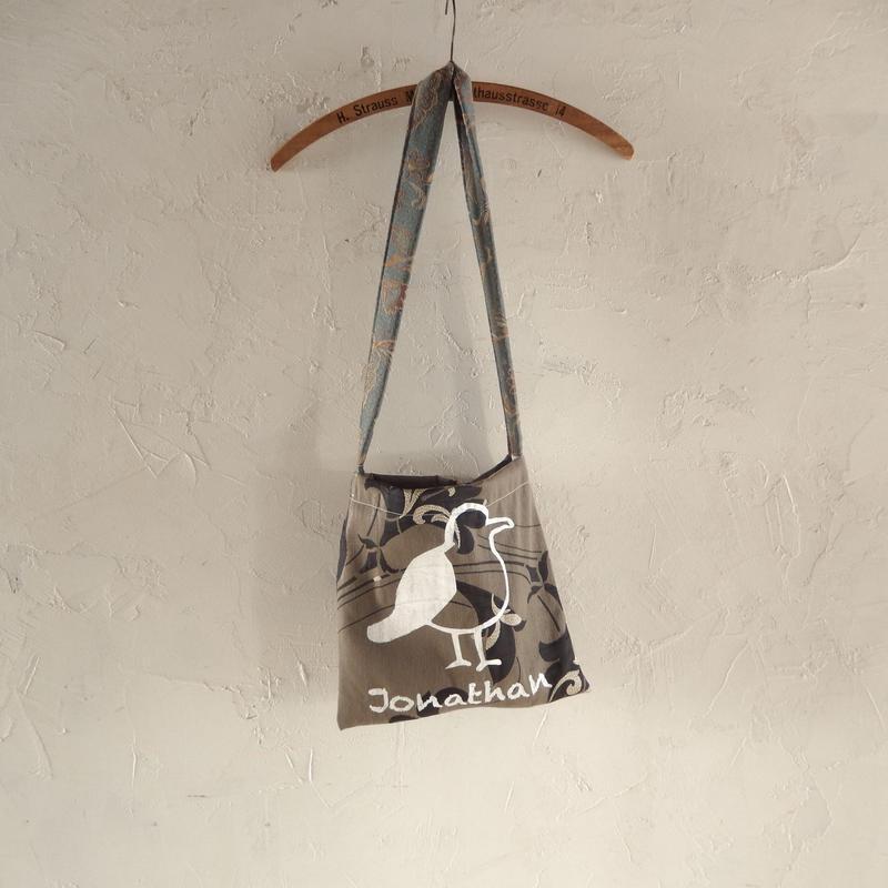 takuroh shirafuji Jonathan Print Shoulder Bag 1