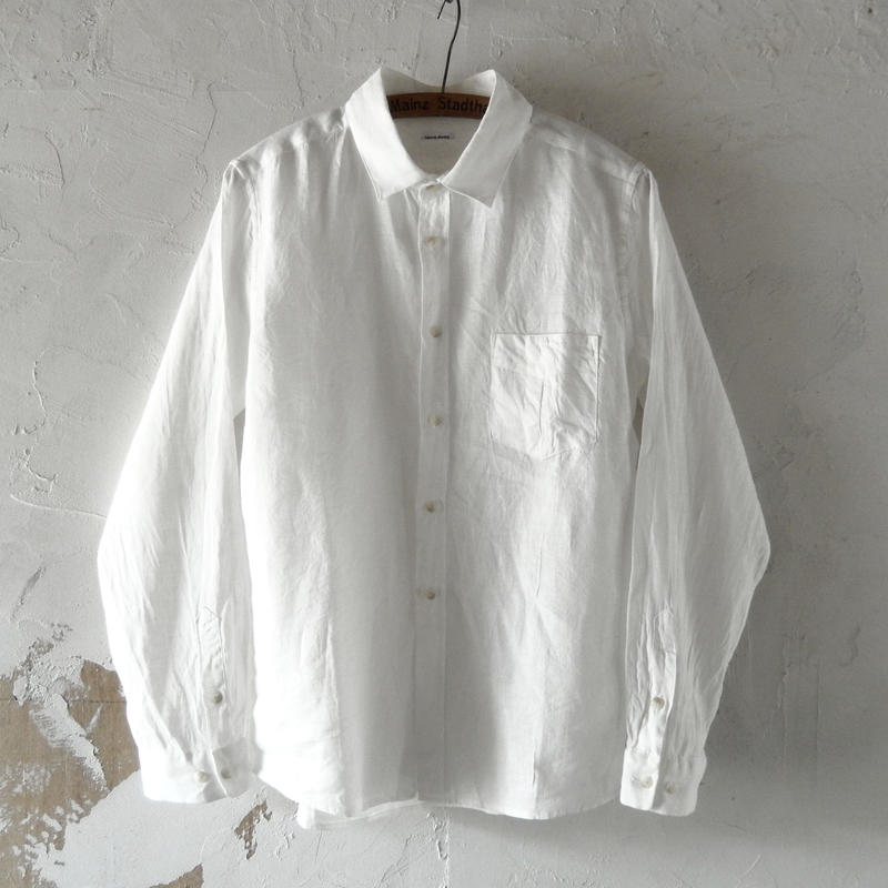 takuroh shirafuji Lithuania Linen basic shirt (size 3)