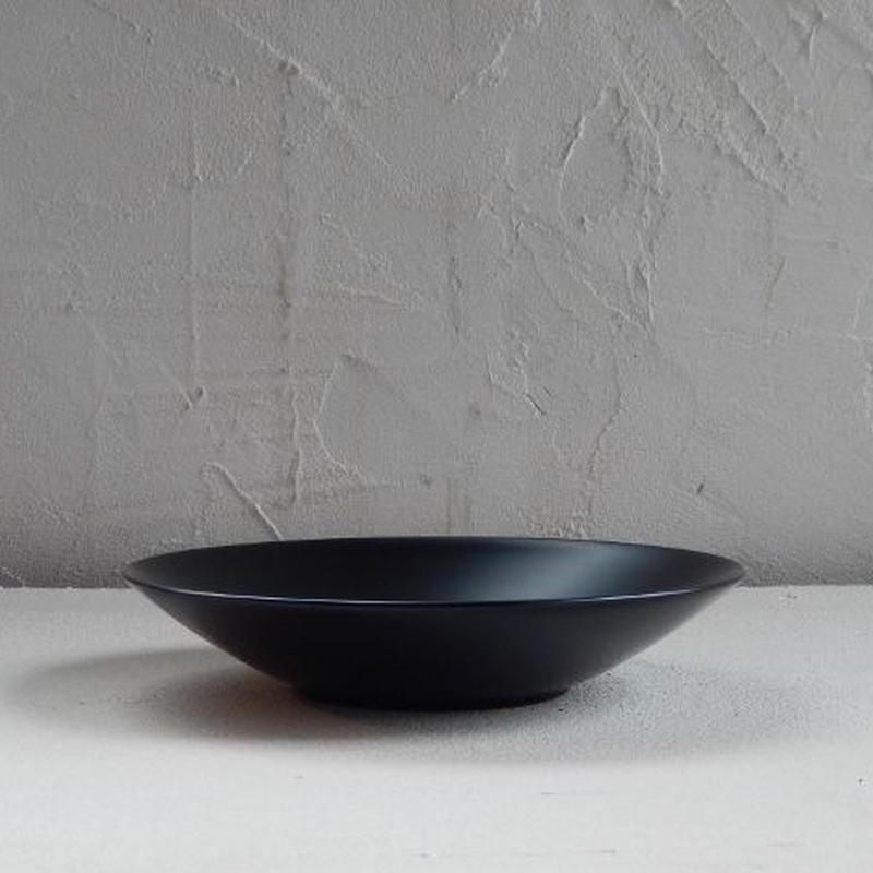 土田和茂  深皿 5寸(黒)