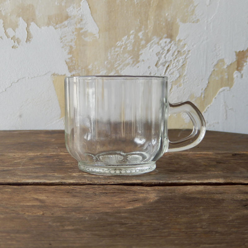 antiques  ガラスのカップ