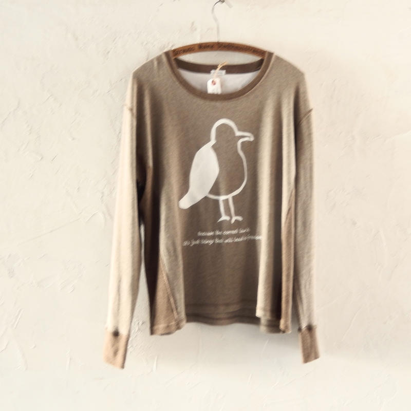 takuroh shirafuji Jonathan Print Long Sleeve T-shirts(size 3)