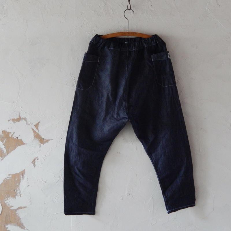takuroh shirafuji Chao Phraya[Sarouel Pants(Denim Linen) :  size 1]