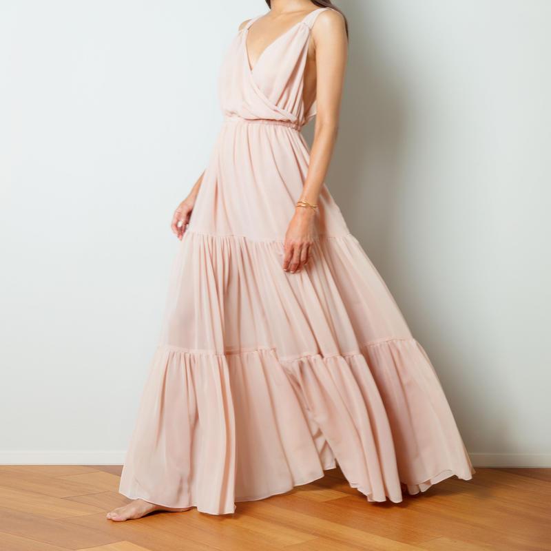 【Sea of Rose】DRESS - DUSTY PINK