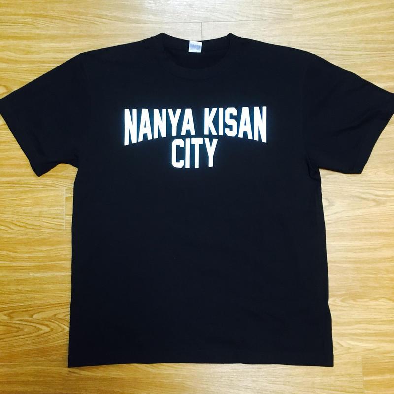【受注製作商品】atleta nanyakisancity T-shirt ナンヤキサンシティTシャツ ブラック