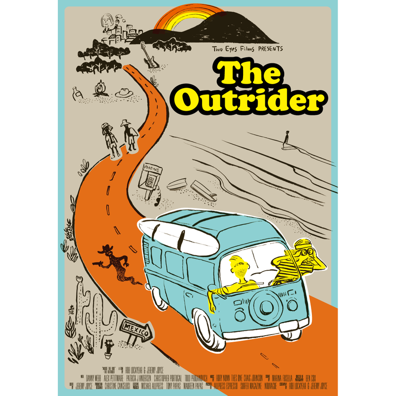 オリジナルポスター Original poster [ The Outrider ]