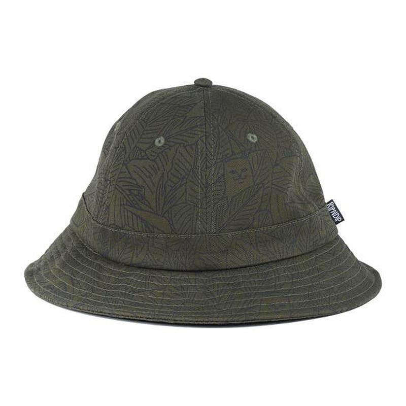 RIPNDIP SAFARI NERMAL BUCKET HAT (OLIVE)