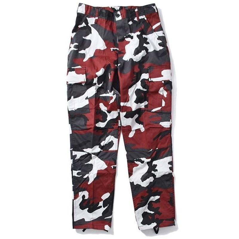 ROTHCO COLOR CAMO TACTICAL BDU PANTS (RED CAMO)
