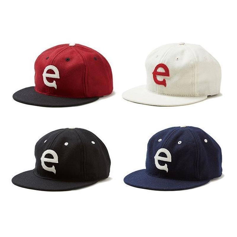 EVISEN e logo KING CAP (BURGUNDY, WHITE, BLACK, NAVY)