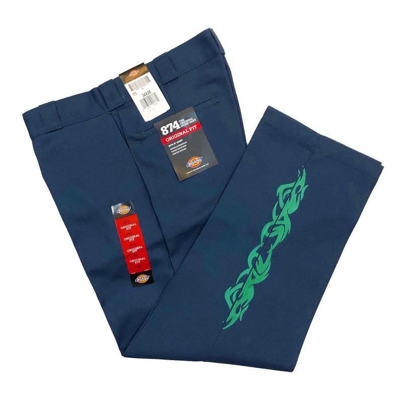 ATTACK ORIGINALAS TRIBAL PANTS (BLUE, BEIGE, BLACK)