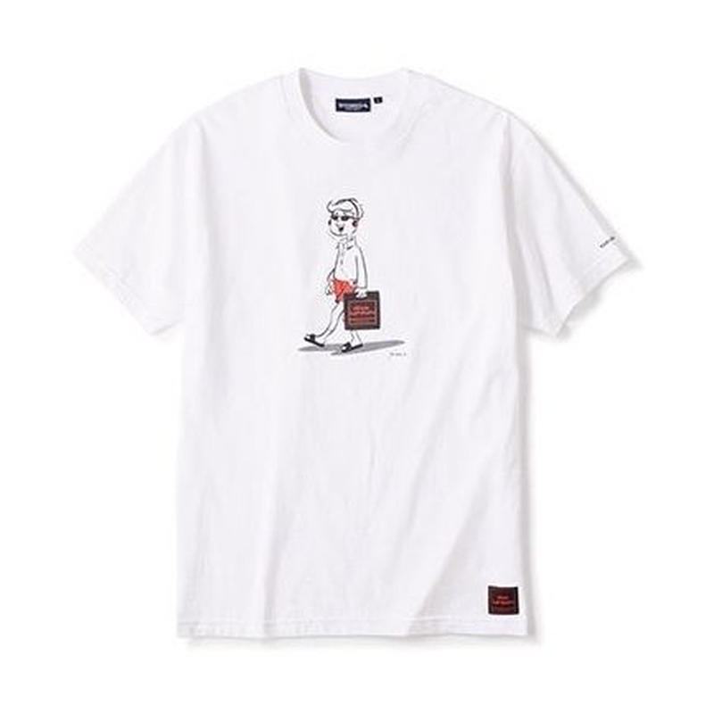 DISKUNION X INTERBREED BEAT HOLIC SS TEE (WHITE)
