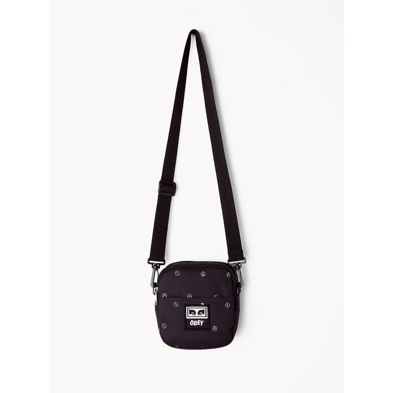 OBEY Drop Out Traveler Bag (SYMBOL BLACK MULTI)