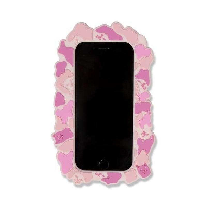 RIPNDIP NERM CAMO IPHONE CASE (PINK)
