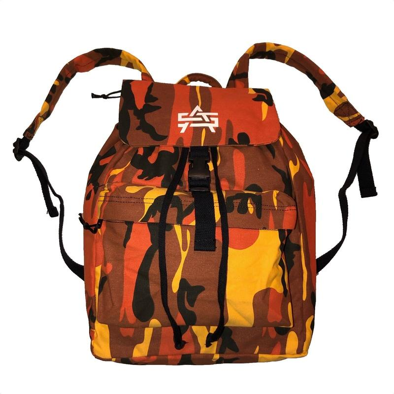 ATTACK ORIGINAL JUNGLE DAY PACK (ORANGE CAMO)