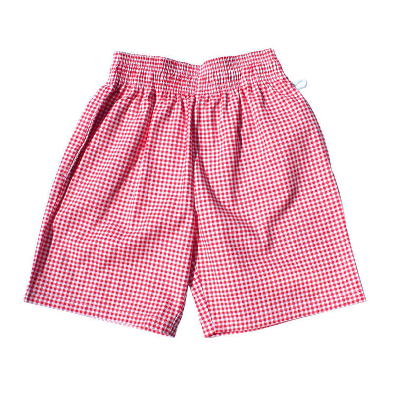 Cookman Chef Short Pants (Gingham Red)