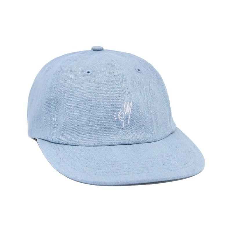 Only NY  OK Polo Hat (WASHED DENIM, OLIVE)