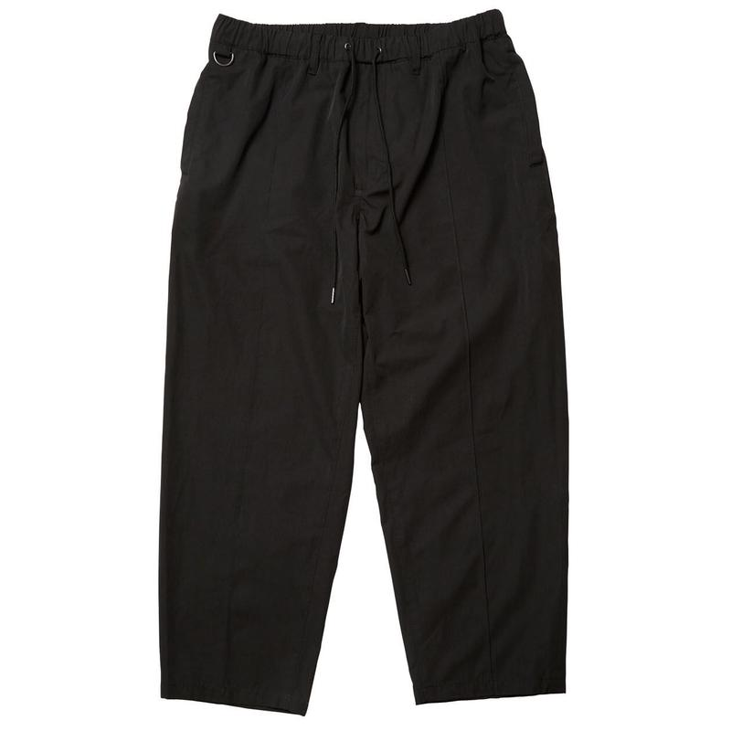 Evisen Skateboardsゑ PIN TUCK EASY PANTS (BLACK , LIGHT BEIGE)