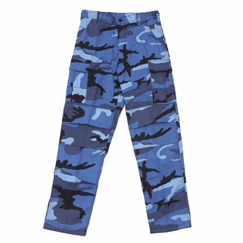 Rothco COLOR CAMO TACTICAL BDU PANTS (SKY BLUE CAMO)