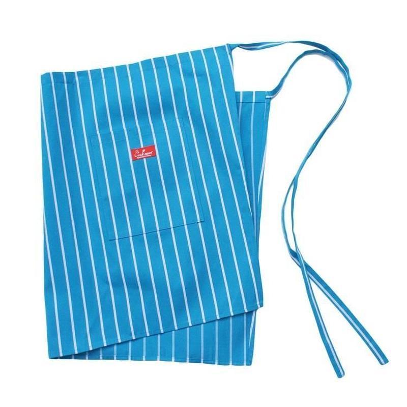 Cookman Waist Apron (Stripe Light Blue)
