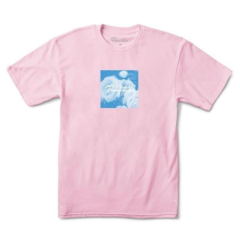 PRIMITIVE BLUE ROSE TEE (PINK, WHITE, BLACK)
