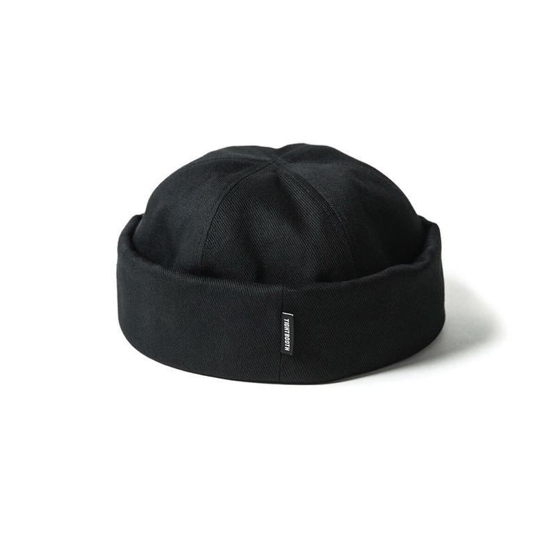 TIGHTBOOTH COTTON ROLL CAP (Black)