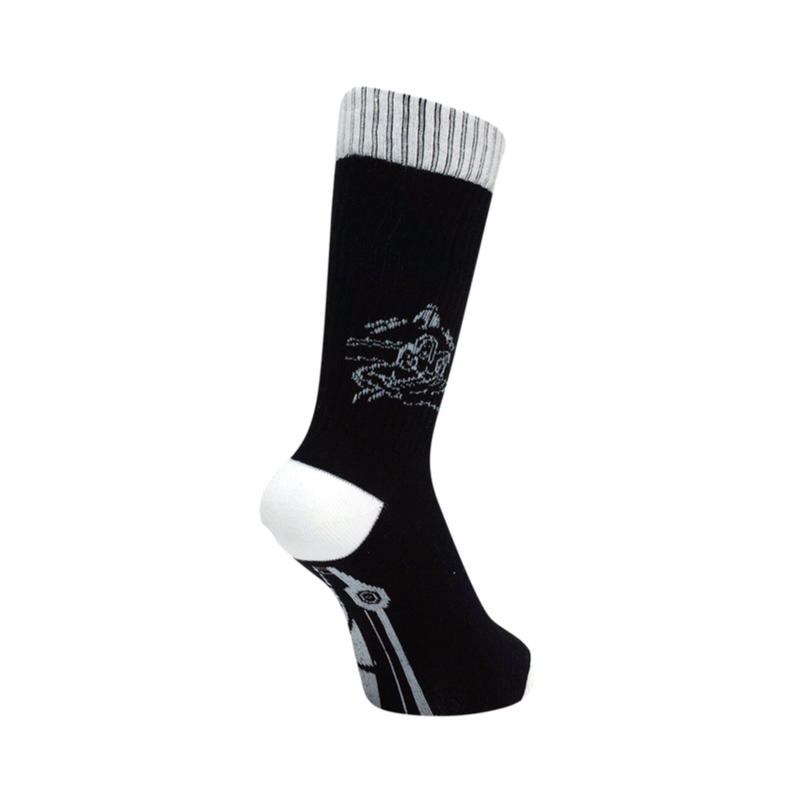 GanaG Socks TRAFFIC Socks by nigamushi(BLACK)