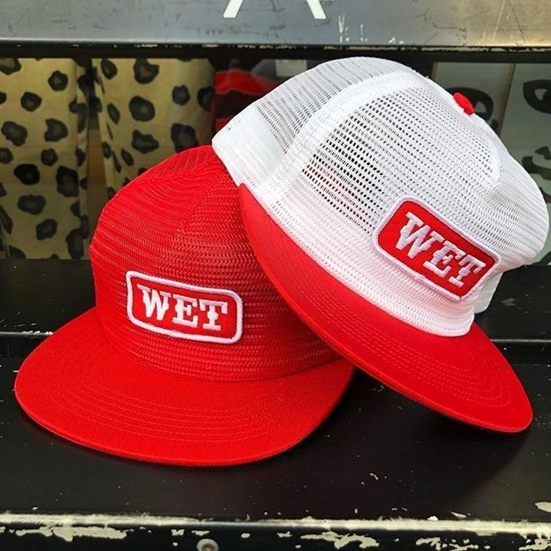CALL ME 917 WET 'N WILD HAT (RED, WHITE)